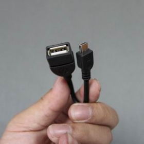 OTG cable (Micro USB to USB Female OTG adapter cable)